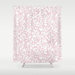 Terrazzo Spot 2 Blush Shower Curtain