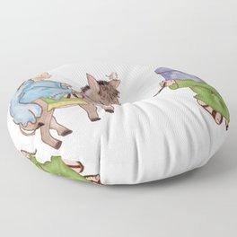 Nativity scene Floor Pillow