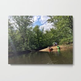 Saco River, Maine (2) Metal Print