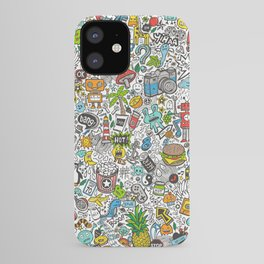 Comic Pop art Doodle iPhone Case