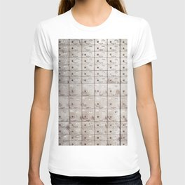 Chests with numbers T-shirt