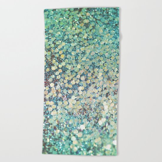 Mermaid Scales Beach Towel