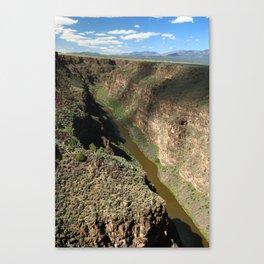 Rio Grande Gorge Canvas Print