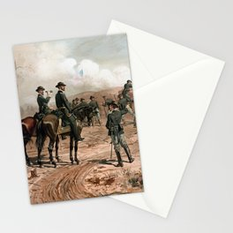 General Sherman Observing The Siege of Atlanta Stationery Cards