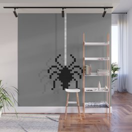 Pixel Spider Wall Mural