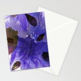 Watercolor Purple Mirage Stationery Cards