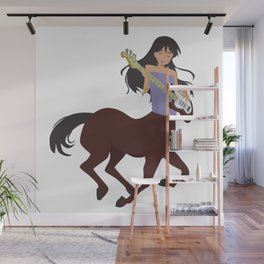 Gift for the Happy Sagittarius Woman Wall Mural