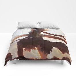 Lexa kom Trikru Comforters