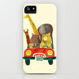 Visit the zoo iPhone Case