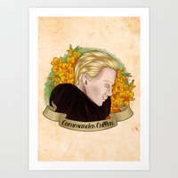 Commander Gladiolus Art Print