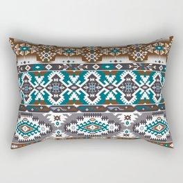 Modern Native American Pattern 5 Rectangular Pillow