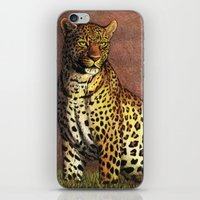 panther iPhone & iPod Skins featuring Panther by Savousepate