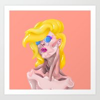 Pop Star Art Print