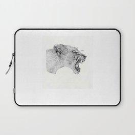 Dotwork Lioness Laptop Sleeve