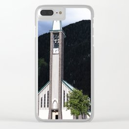 Church in Fassa Valley Clear iPhone Case