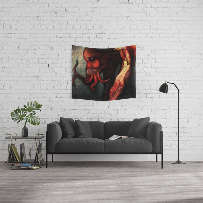 Are you there Cthulu? it's me... Wall Tapestry