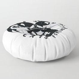 Boys Whatever Cats Forever Floor Pillow