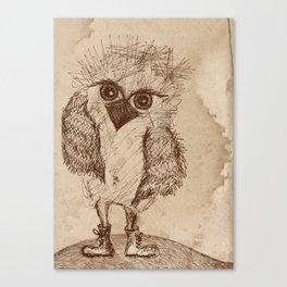 Tough Chick Canvas Print