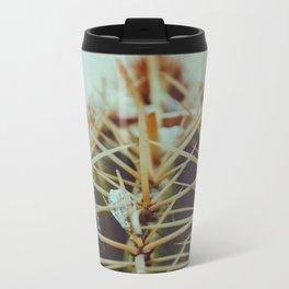 vintage cactus Metal Travel Mug