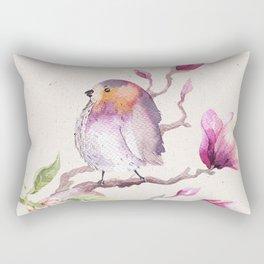 Magnolia #1 Rectangular Pillow