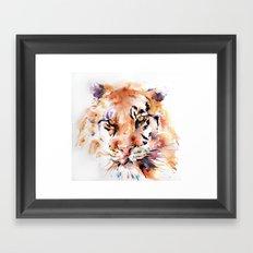 Tiger  Panthera . . .  Framed Art Print