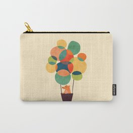 Whimsical Hot Air Balloon Carry-All Pouch