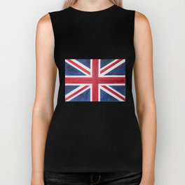 Union Jack Acrylic on Canvas Biker Tank