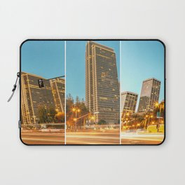City Awakening Triptych Laptop Sleeve