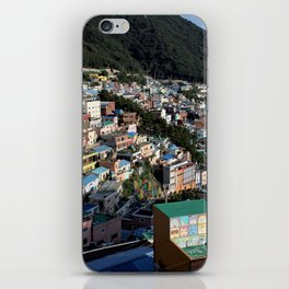 human society meets nature iPhone Skin