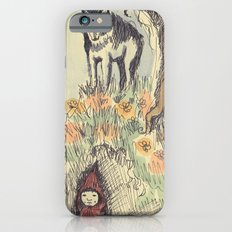 Wolf in the Woods iPhone 6s Slim Case