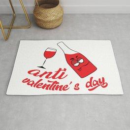 Anti valentine's day Rug