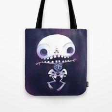 Squeleteeth Tote Bag