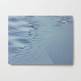 Water Ripples Metal Print