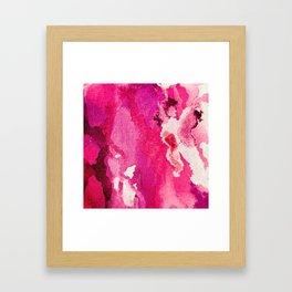 SO Pink Framed Art Print