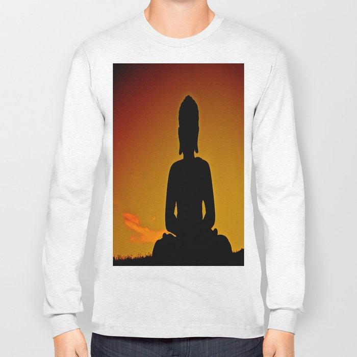In Buddha's Shadow Long Sleeve T-shirt