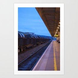 Freight Train - Colour Art Print