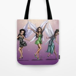Fairy (all 3) Tote Bag