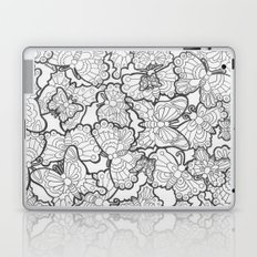 Butterfly Conservatory (Black and White) Laptop & iPad Skin