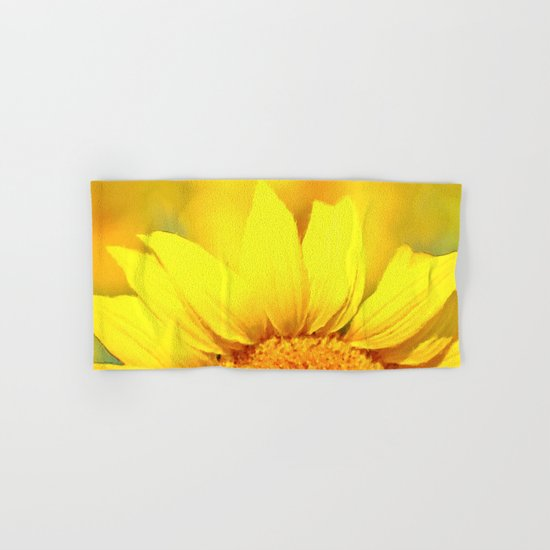 Sunflower love  Hand & Bath Towel