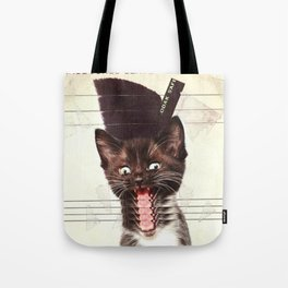 Slave To Kitty Tote Bag