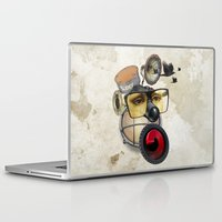 industrial Laptop & iPad Skins featuring industrial existence by Vin Zzep