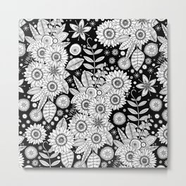 daisy mono pop Metal Print