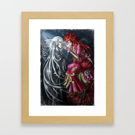 Tea and Crumpets Framed Art Print