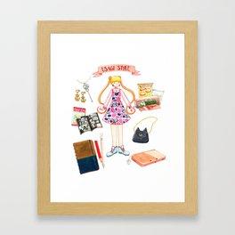 Usagi Style Framed Art Print