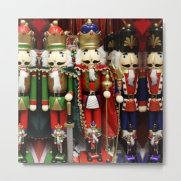 Nutcracker Soldiers Metal Print
