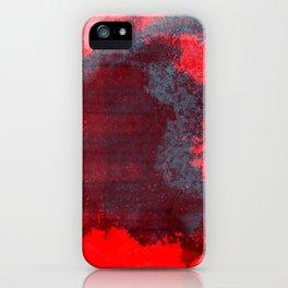 REDBLUE iPhone Case