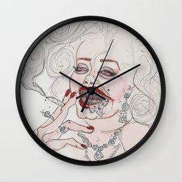 """Falling in Love"" Wall Clock"