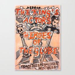 Heroes of the Globe Canvas Print
