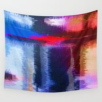 fabric Wall Tapestries featuring Splat Fabric by Good Sense