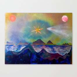 'Empyrean Skyline' Canvas Print